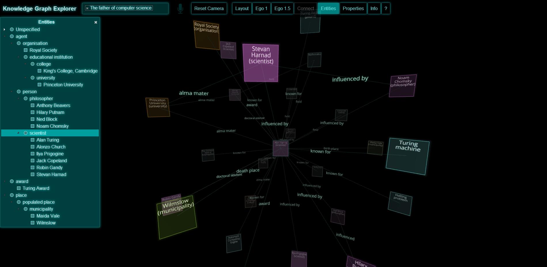 Jamie Rasmussen : Knowledge Graph Explorer